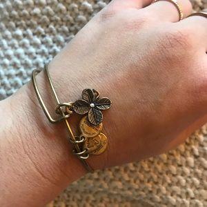 Alex & Ani Floral Energy Bracelet